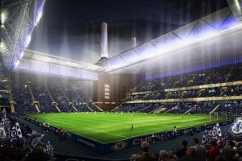 Chelsea+FC+release+artist+impression+images+of+their+proposed+Battersea+stadium