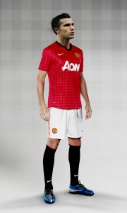 FA12 Manchester United kit pattern