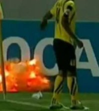 a-soccer-player-in-iran-threw-a-grenade-off-the-field-just-before-it-blew-up