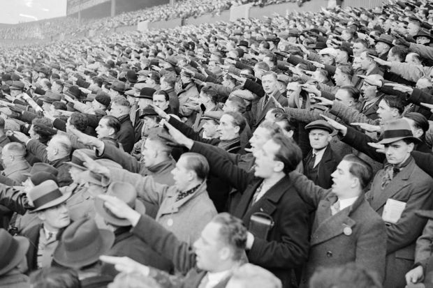German-football-supporters-giving-the-Nazi-salute-during-the-international-match-against-England-at-White-Hart-Lane-4712652