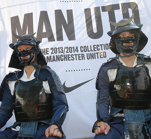 Manchester United – Nike Away Kit Launch
