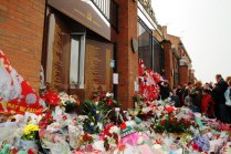 Anfield Memorial For The 20th Anniversary Of The Hillsborough Tragedy