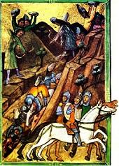 batalia de la posada cronica pictata de la Viena