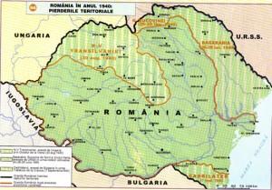 Pierderi teritoriale 1940