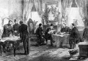 Semnarea Tratatului de la San Stefano
