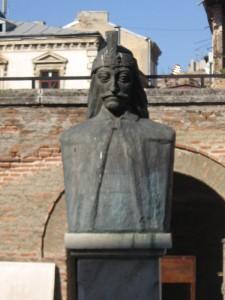 Bust al lui Vlad Tepes