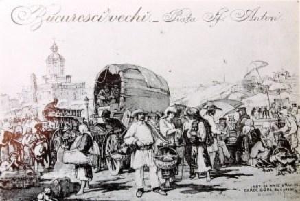 Piata sfantul Anton din Bucuresti