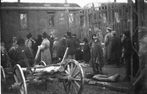 Refugiati in gara din Iasi