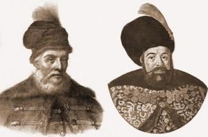 Matei Basarab si Vasile Lupu- domnitori care au inchinat multe manastiri catre muntele Athos