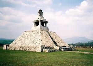 Monumentul de la Pades in cinstea lui Tudor Vladimirescu