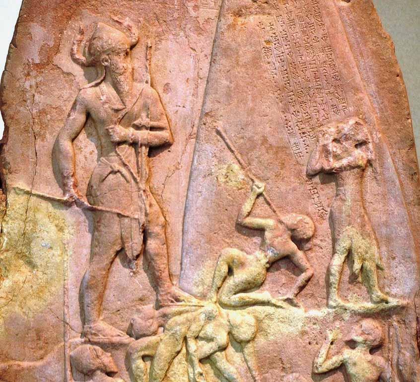 Regele Naram-Sin din Akkad a domnit 75 de ani