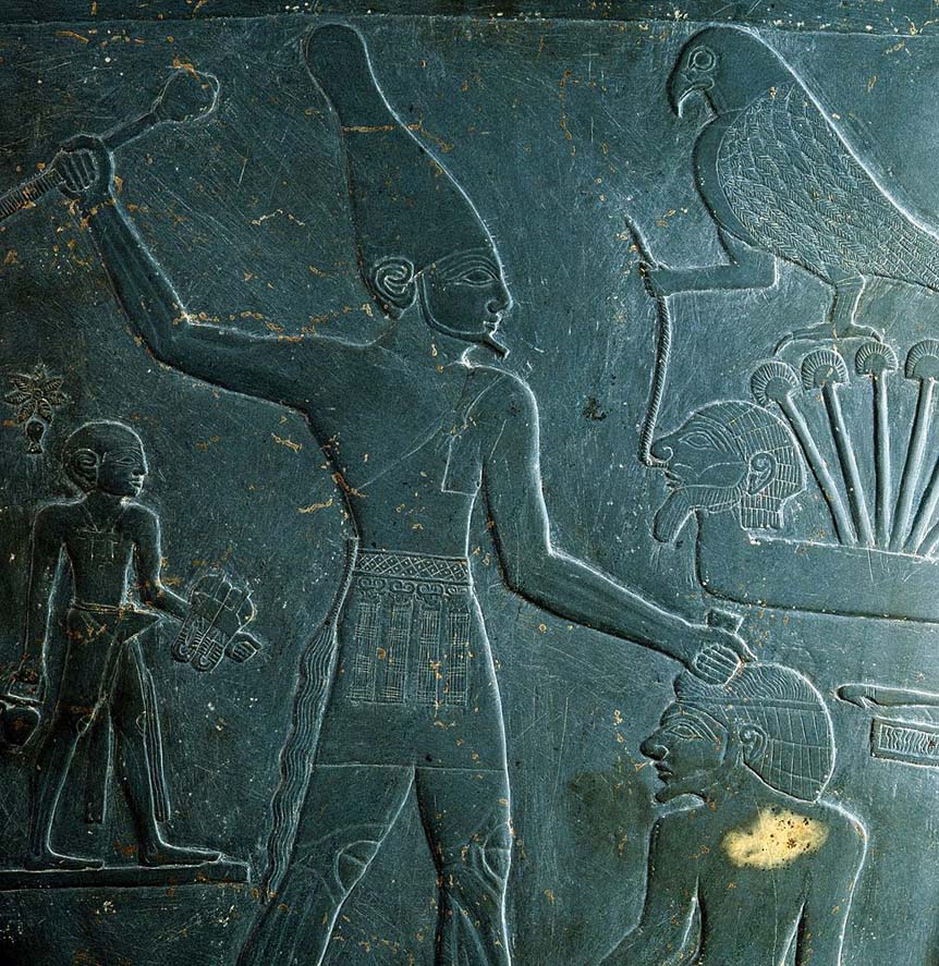 Regele Menes, fondatorul primei dinastii din Egipt