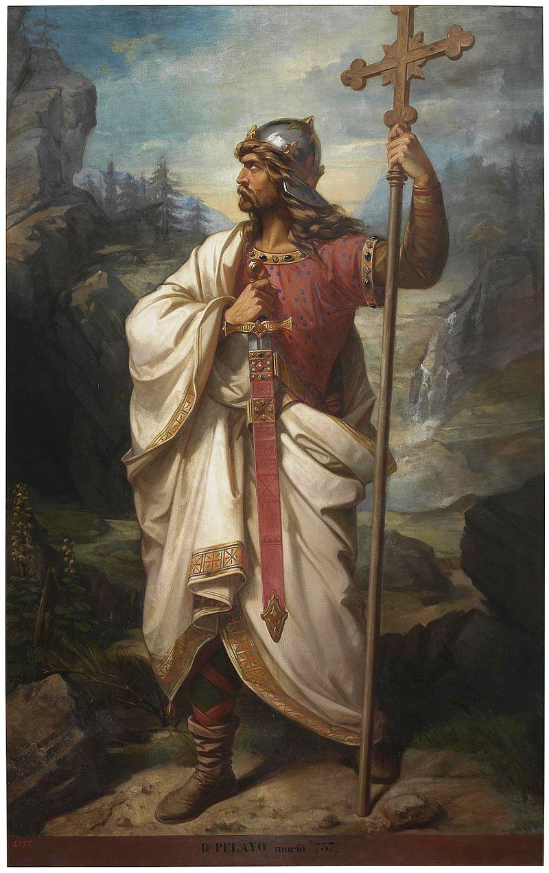 Pelag Cuceritorul, regele Asturiei