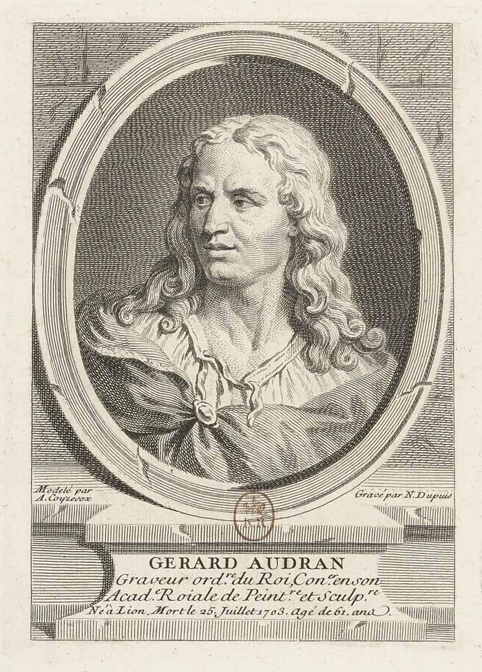 Gérard Audran, gravorul lui Ludovic al XIV-lea