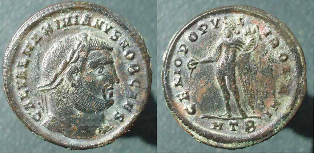 Follis, soluția de reformă monetară a lui Dioclețian