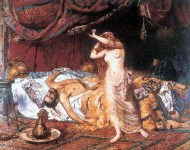 Ildico, ultima soție a regelui hunilor, Attila