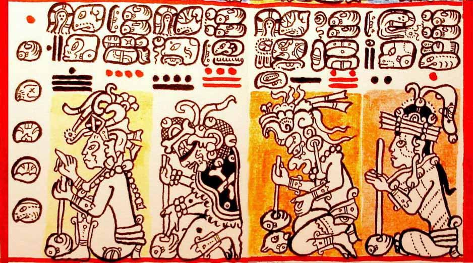 Calendarul divinatoriu maya Tzolk'in