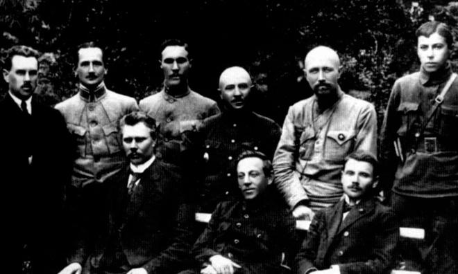 Керівники УНР. Липень 1919 р.