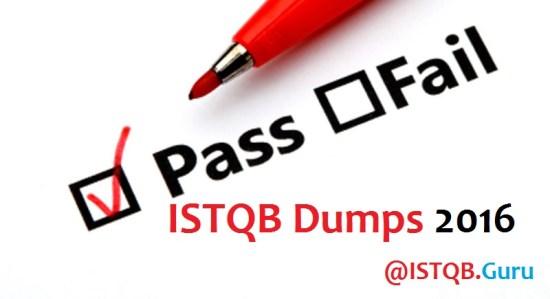 ISTQB Dumps 2016