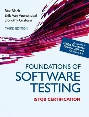 Foundations of Software Testing ISTQB Certification 3rd Edition ...