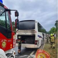 VIŠNJAN: Na Ipsilonu se zapalio autobus, očevid u tijeku