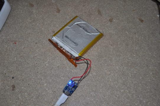 Riutilizzare batteria vecchio portatile