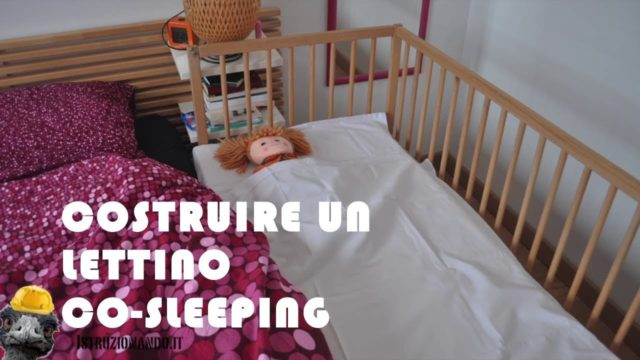 Costruire un lettino co-sleeping