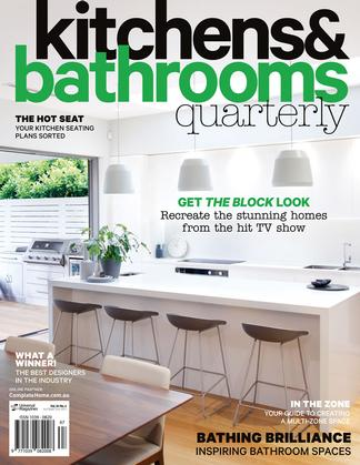kitchen magazine table set kitchens bathrooms quarterly 12 month subscription