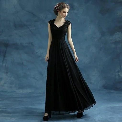 Black Evening Gown Dress Prom Dress - Cheap Prom Dress,Evening Dress ...