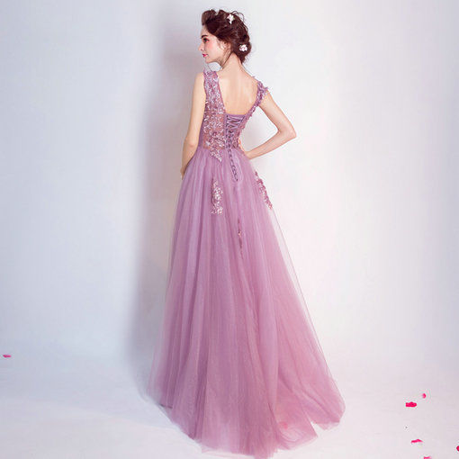 Prom Dress Purple With Train Under 100 Cheap Prom Dressevening