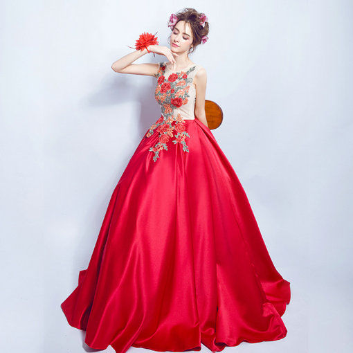 Red Quinceanera Dresses Prom Dress - Cheap Prom Dress,Evening Dress ...