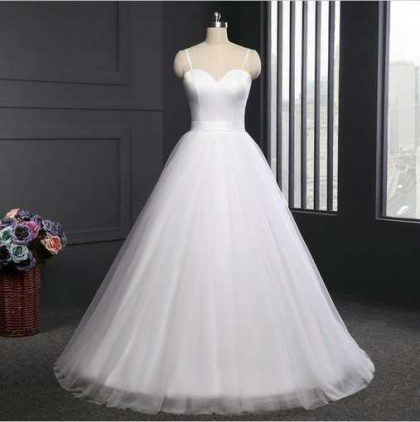 Simple Wedding Dress Strapless Wholesale - Cheap Prom Dress,Evening ...