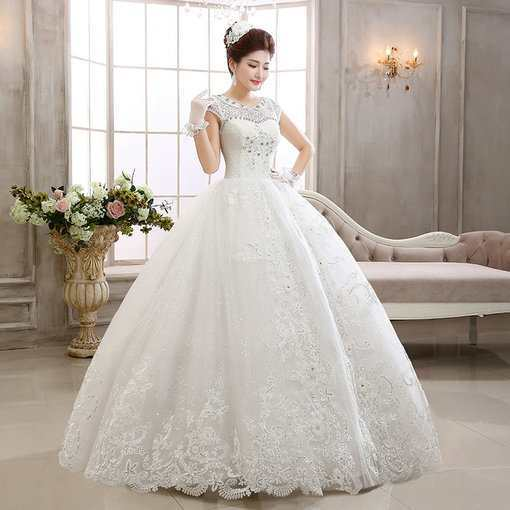 Lace wedding dress affordable bridal gowns under 100 cheap prom wedding dress under 100 330 04 junglespirit Image collections