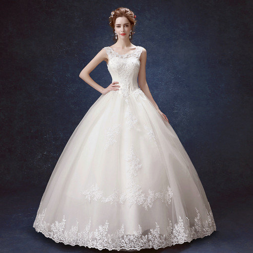 Ball gown wedding dress princess lace bridal gown under 100 wedding dress 2018 0556 04 junglespirit Image collections