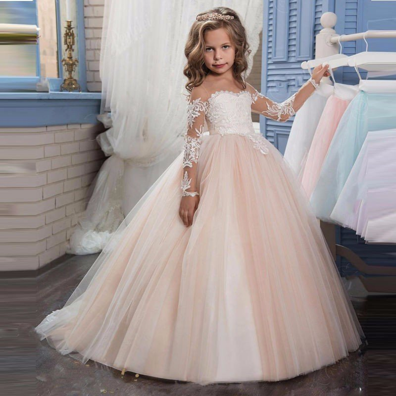 Wedding dresses for girl pink flower girls dress for sale wedding dresses for girl 0603 02 mightylinksfo