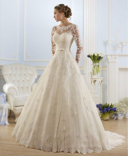 Long Sleeve Wedding Dresses Bridal Dresses Online Shopping