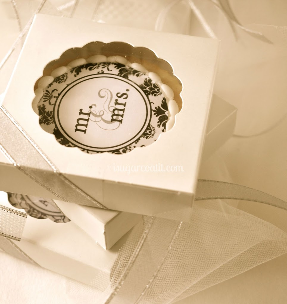 Wedding Cookie Favours