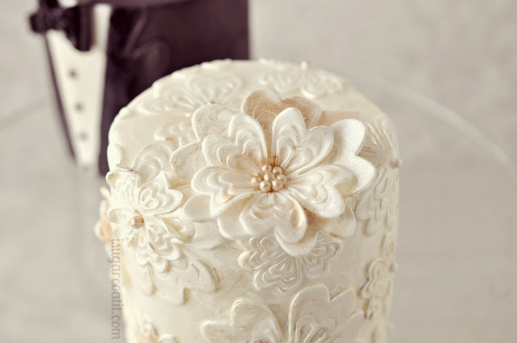 Mini Vintage Wedding Cakes I Sugar Coat It - Wedding Cakes Vintage