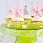 Bunny Nests Easter Carrot Cupcakes