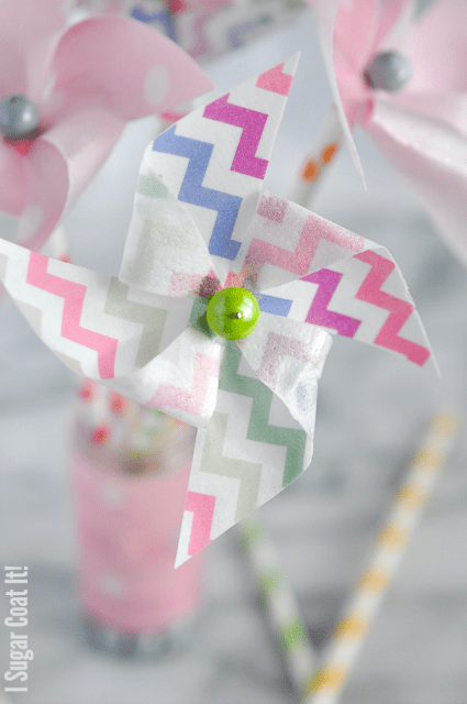 How To Make Wafer Paper Pinwheels!