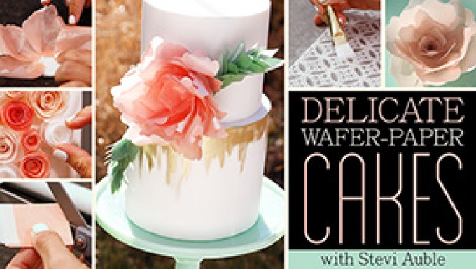 Delicate Wafer Paper Cakes_Craftsy