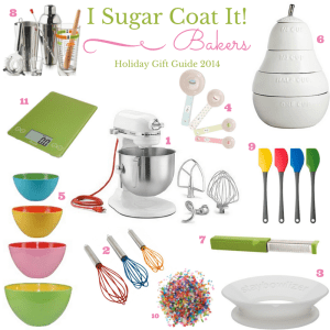 I Sugar Coat It! Bakers Bakers Holiday Gift Guide 2014