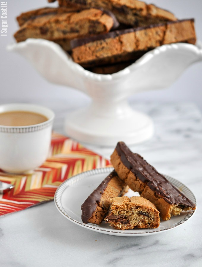 Double Chocolate Hazelnut Biscotti {Rodelle Giveaway}!