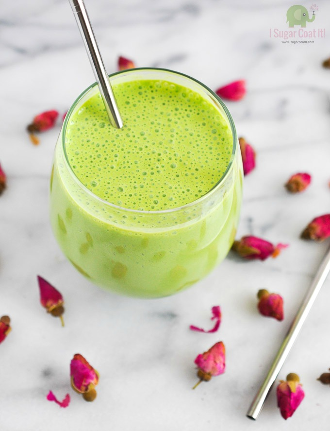Tropical Punch Green Smoothie