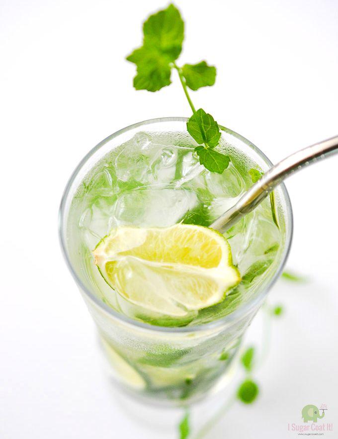 Ginger Lemongrass Limeade