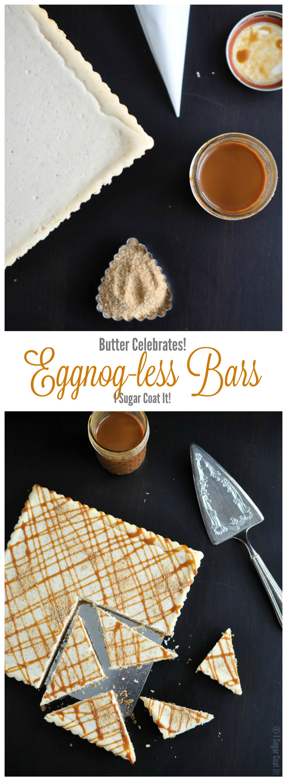 Butter Celebrates Eggnog-less Bars