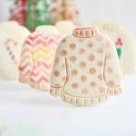 Ugly Sweater Vanilla Cookies
