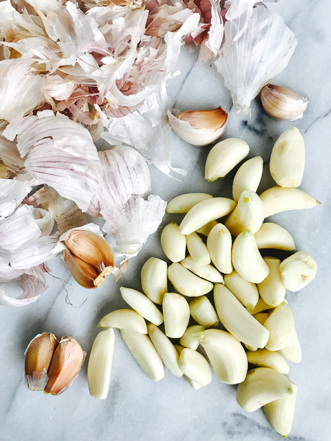 Sous Vide Garlic Confit is the perfect addition to everything from pizza to pasta to toast and only requires two ingredients.
