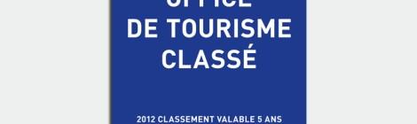 Classement de l'Office de Tourisme Intercommunal de L'Ile-Rousse  en catégorie II