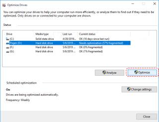 Cara Defrag Windows 10 Terbaru